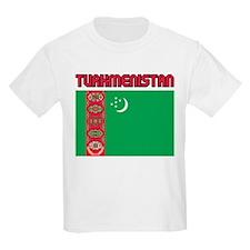 Turkmenistan Kids T-Shirt
