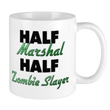 Half Marshal Half Zombie Slayer Mugs