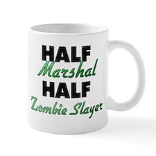 Half Marshal Half Zombie Slayer Mugs