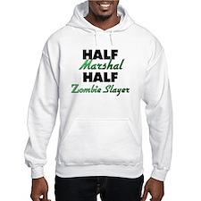 Half Marshal Half Zombie Slayer Hoodie