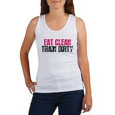 Eat Clean, Train Dirty Tank Top