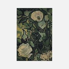 Roses by Vincent van Gogh Rectangle Magnet