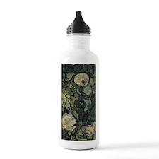 Roses by Vincent van G Water Bottle