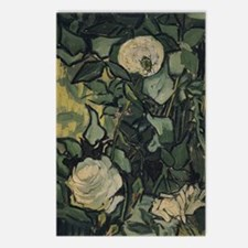 Roses by Vincent van Gogh Postcards (Package of 8)