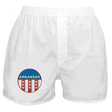 Patriotic Arkansas Boxer Shorts