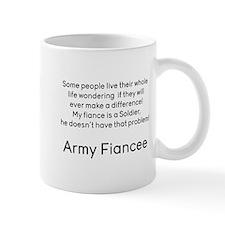 Army Fiancee No Prob Mugs