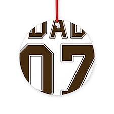 Stencil Dad 07 Ornament (Round)
