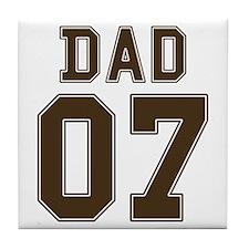 Stencil Dad 07 Tile Coaster