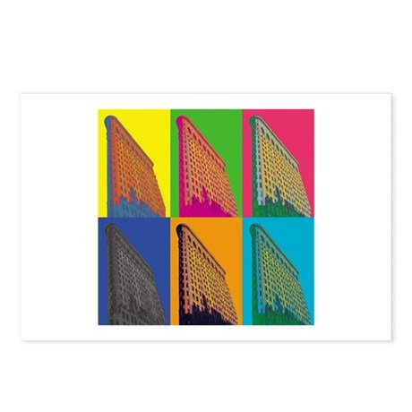 Flatiron bldg Postcards (Package of 8)