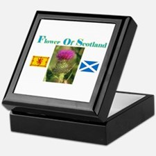 Flower Of Scotland(2) Keepsake Box