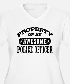Property of an Awesome Police Officer T-Shirt