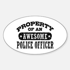Property of an Awesome Police Officer Decal