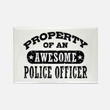 Property of an Awesome Police Officer Rectangle Ma