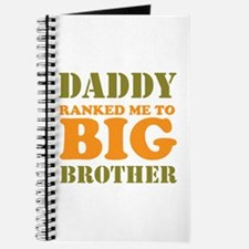Daddy Ranked me to Big Brother Journal