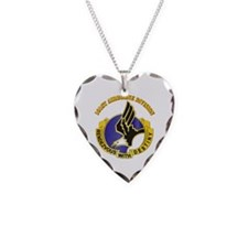 DUI - 101st Airborne Division with Text Necklace