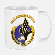 DUI - 101st Airborne Division with Text Mug