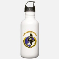 DUI - 101st Airborne Division with Text Water Bottle