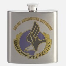 DUI - 101st Airborne Division with Text Flask