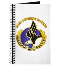 DUI - 101st Airborne Division with Text Journal