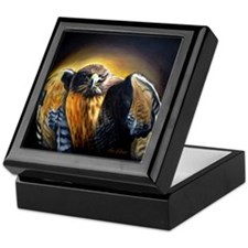 Dark Hawk Keepsake Box