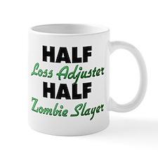 Half Loss Adjuster Half Zombie Slayer Mugs