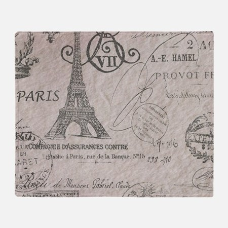 Vintage Paris Eiffel Tower Scripts