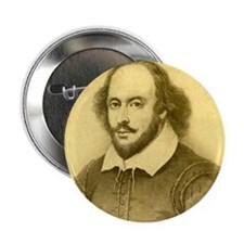 "William Shakespeare 2.25"" Button (100 pack)"