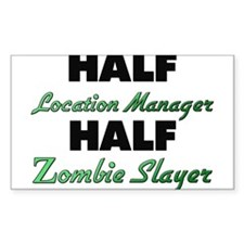 Half Location Manager Half Zombie Slayer Decal