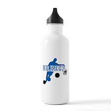 Greek Football Player Water Bottle