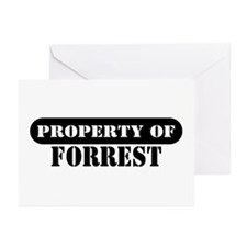 Property of Forrest Greeting Cards (Pk of 10)