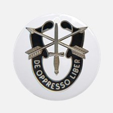 Special Forces Ornament (Round)