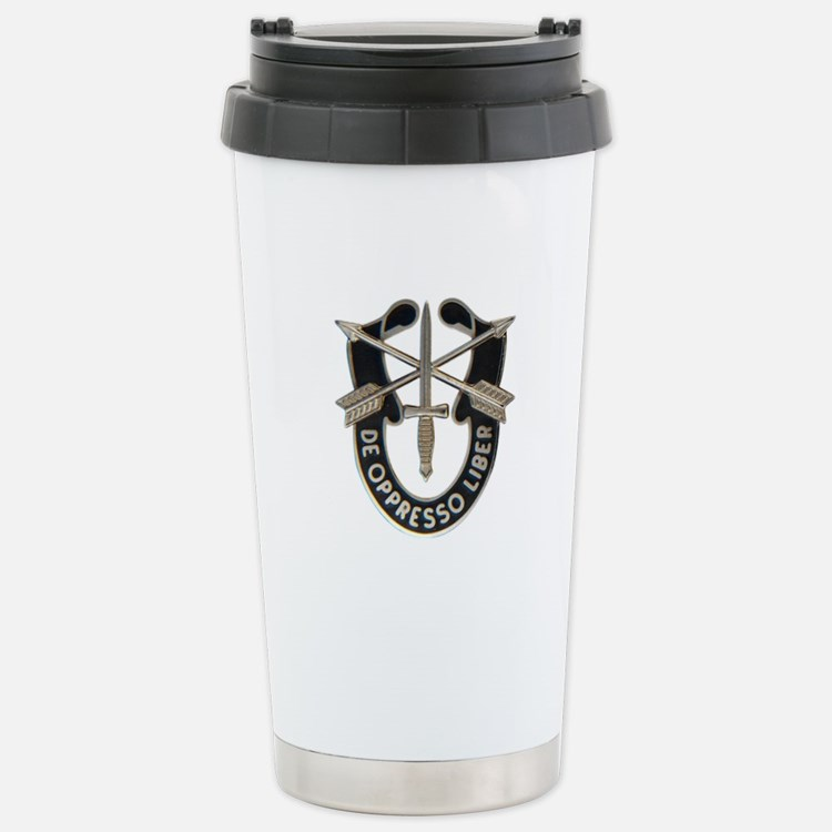 Special Forces Stainless Steel Travel Mug