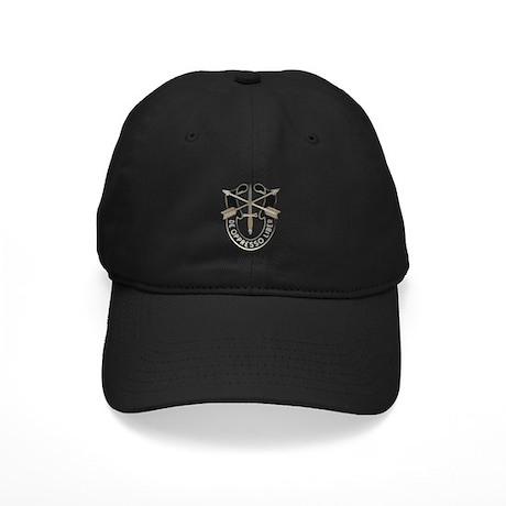 Special Forces Black Cap