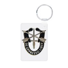 Special Forces Aluminum Photo Keychain
