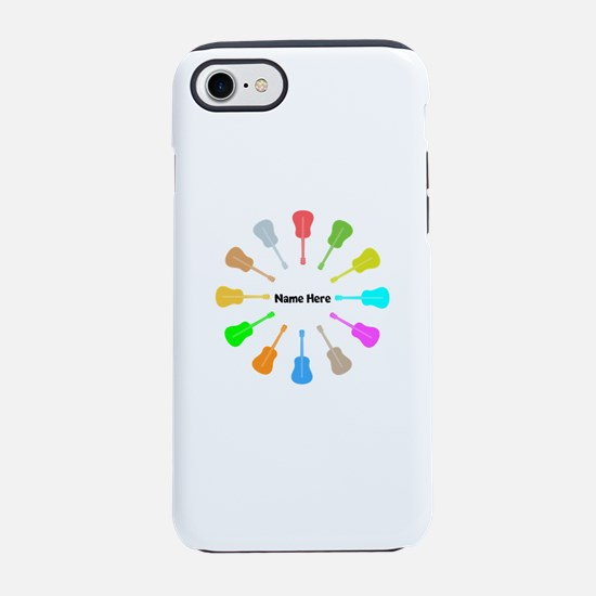Guitars Personalized iPhone 7 Tough Case