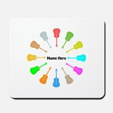 Guitars Personalized Mousepad