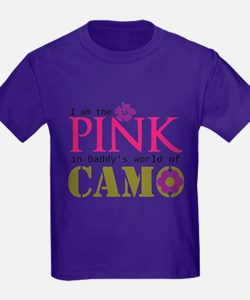 Pink In Daddys Camo World! T