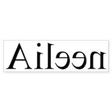 Aileen: Mirror Bumper Bumper Sticker