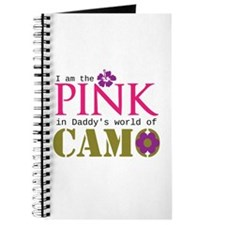 Pink In Daddys Camo World! Journal
