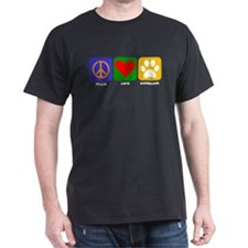 Peace Love Keeshond T-Shirt