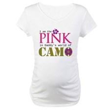 Pink In Daddys Camo World! Shirt