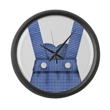 dorothy dress.png Large Wall Clock