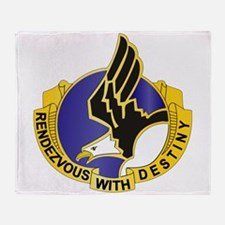 DUI - 101st Airborne Division Throw Blanket