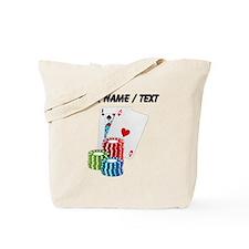 Custom Blackjack Tote Bag