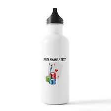 Custom Blackjack Sports Water Bottle