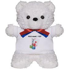 Custom Blackjack Teddy Bear