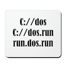 C://dos Shirts Mousepad