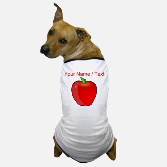 Custom Apple Dog T-Shirt