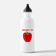 Custom Apple Sports Water Bottle