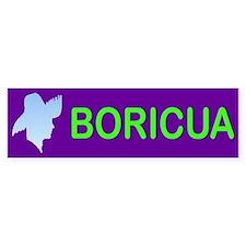 BORICUA ... Bumper Bumper Sticker